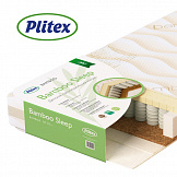 PLITEX Матрас в кроватку BAMBOO SLEEP (119х60х14см)